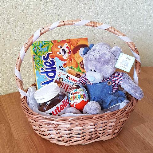 подарочная корзина для ребёнка