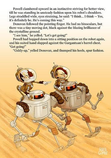 Ilustración Yo Robot
