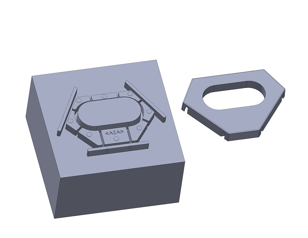 Injection Moulding Core Side and Part