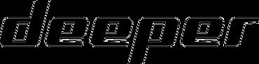 deeper logo angler fisherman