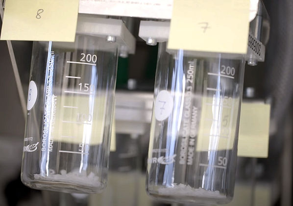 Micro molded parts packaging