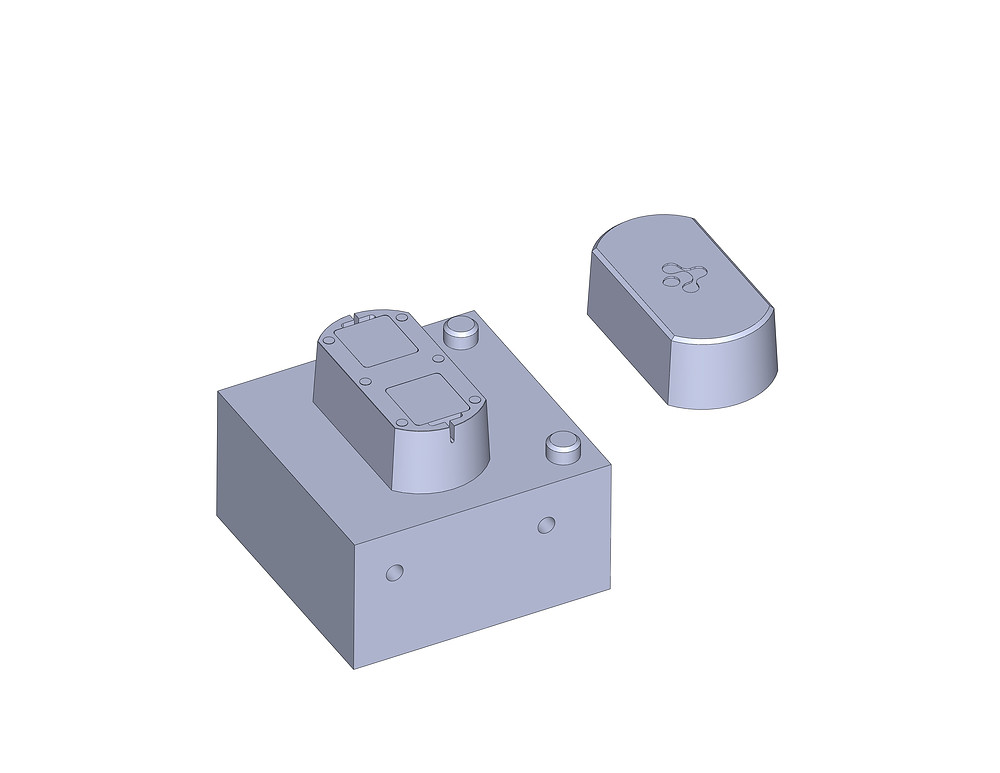 Injection Molding Core Side and Plastic Part