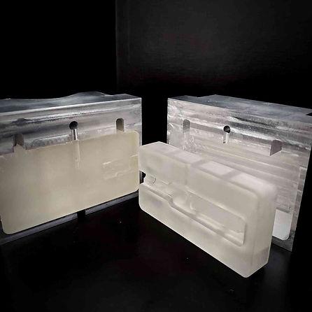 SLA 3D printed moulds