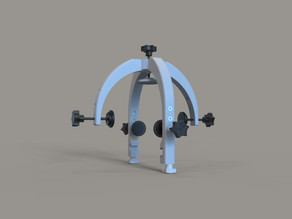 3D Printed Head Frame for Stereotactic Surgery