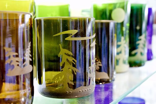 Transformer le verre en verres pour être plus vert