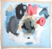 "Untitiled -  (2018)  46"" x 46"" Acrylic latex house paint on canvas"