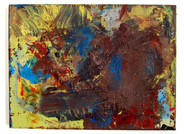 "BFF (2021) 16"" x 12"" Acrylic, traffic paint on canvas"