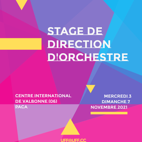 Stage National de Direction 2021