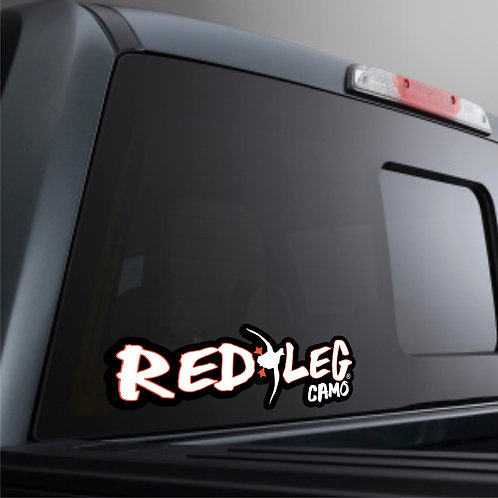 Redleg Camo Decal