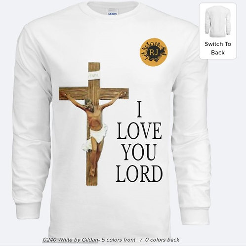 Winter I Love You Lord Shirt