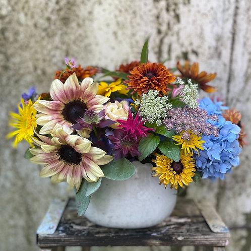Rustic Pot Bouquet