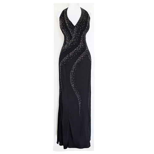 NWT Black Formal Slinky Gown Plus Size 20