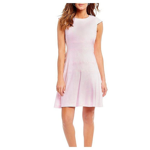 NWT Fit & Flare Baby Pink 'Cat' Dress Size 2
