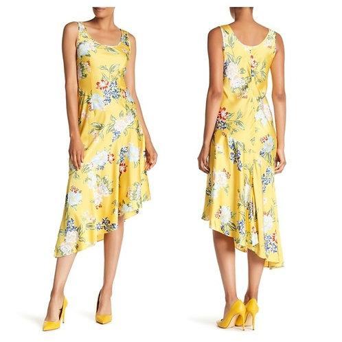 NWT Sunny Floral Charmeuse Dress Size 6