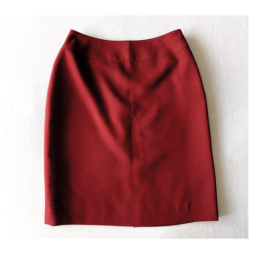 Red Pencil Skirt Petite
