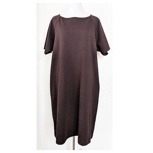 Sable Brown Shift Dress