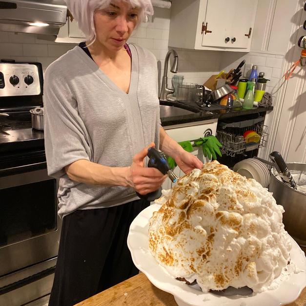 Giant Baked Alaska
