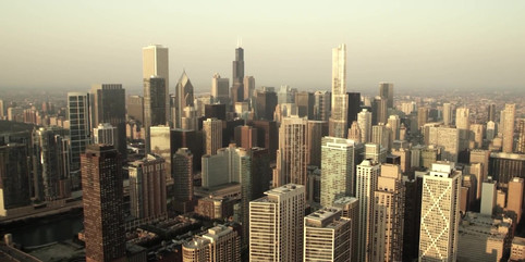 4k HD AERIAL STOCK VIDEO CLIPS OF CHICAG