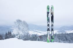 Ski rental courchevel