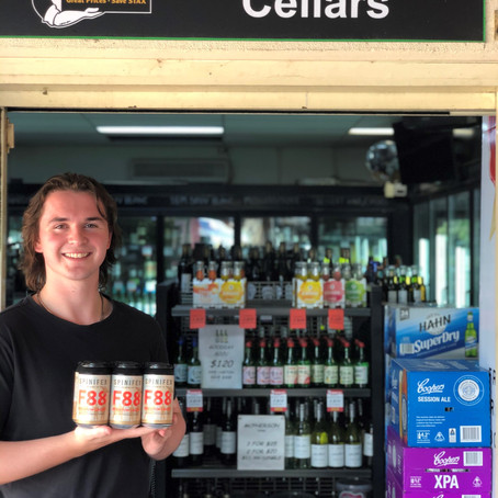 NSW (North West Sydney) F88 Lager takeaway launch stockist announced.