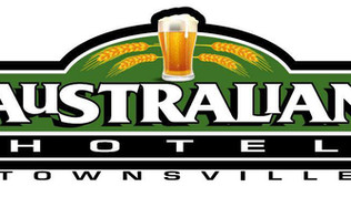 F88 Lager comes The Australian Hotel Townsville Est 1888