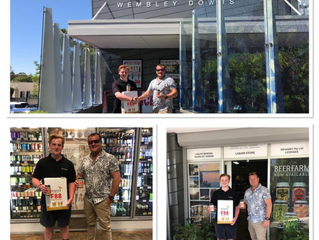 F88 Lager Launch Stockist for PERTH