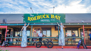 Iconic Roebuck Bay Hotel Broome to stock full SPINIFEX Brewing Co Range