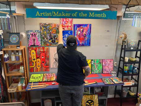 April 2021 Artist of the Month