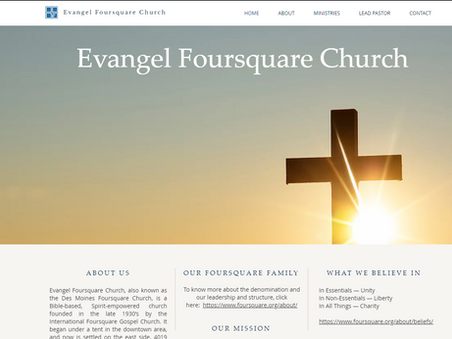 Evangel Chapel Foursquare Website