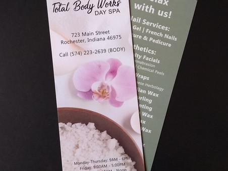 Total Body - Rack Cards