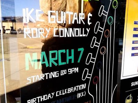 Ike Guitar Poster