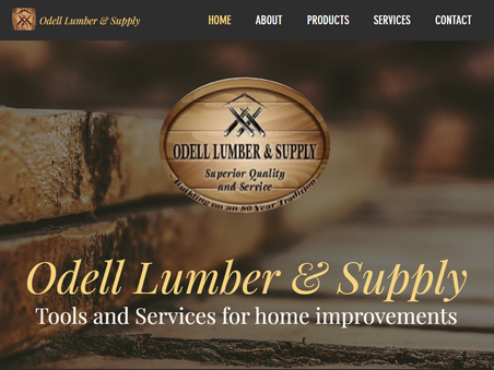 Odell Lumber Website