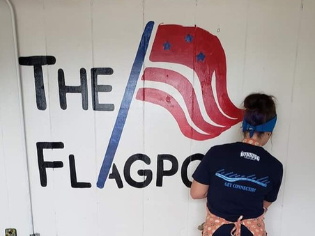 The Flagpole