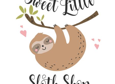 Sweet Little Sloth Shop