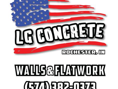 LG Concrete Logo