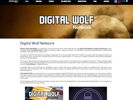 Digital Wolf Network Website