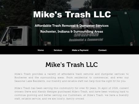Mike's Trash Website