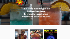 The Dam Landing Website