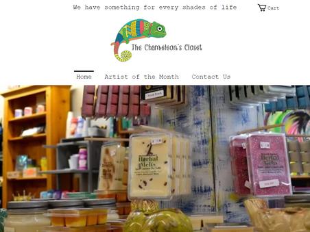 The Chameleon's Closet Website