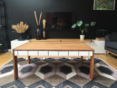 DIY – klinker på sofabordet