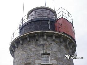 From the lighthouses of Bergudden, Stora Fjaederaegg, Holmogadd.