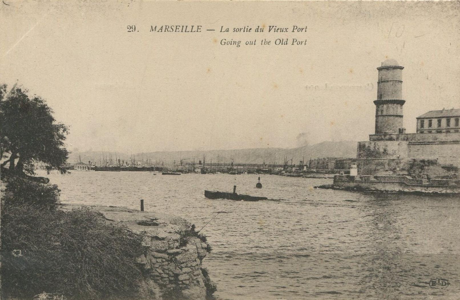 Франция. Марсель (1917)