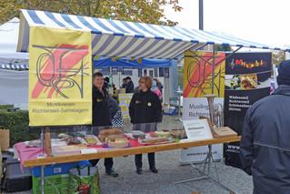 Herbstmarkt Richterswil - das ASPI und der MRS waren dabei