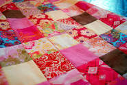 Couvertures en patchwork