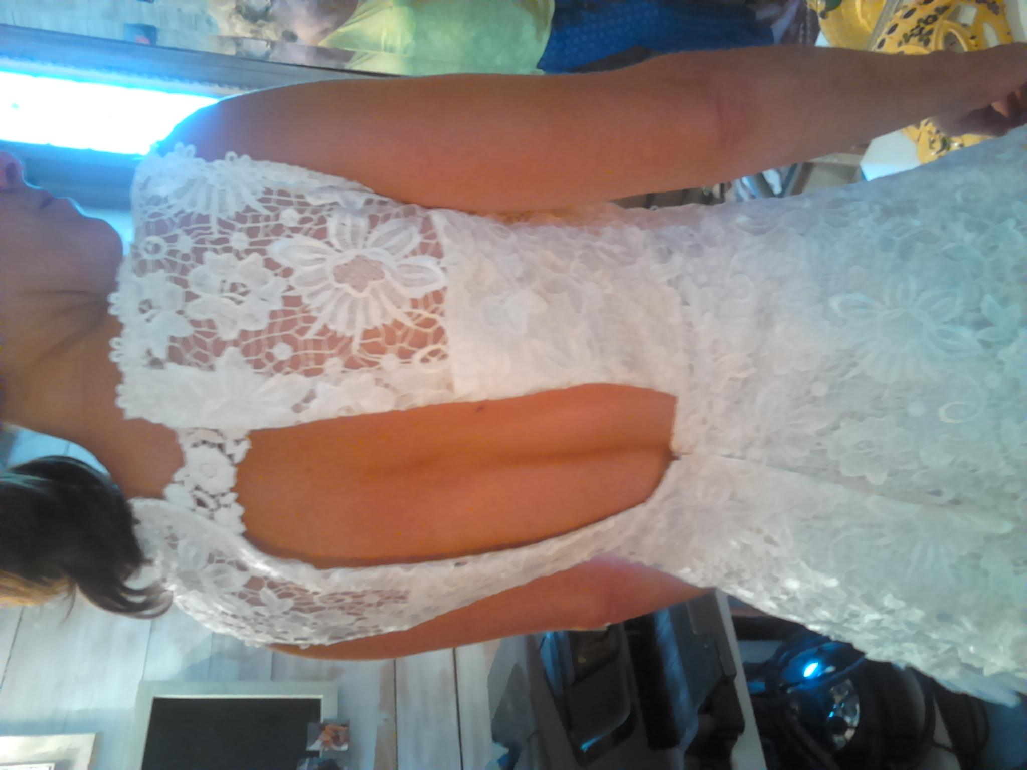 Sauvetage robe de mariée