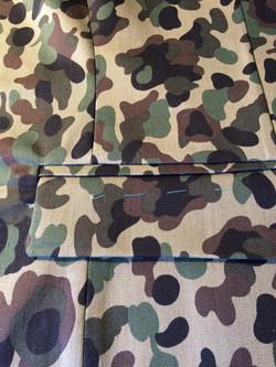 Même en camouflage,