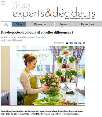 Micro Entreprise La Difference Entre Pas De Porte Et Droit Au Bail