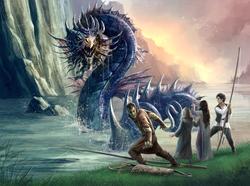 River Monster Scene