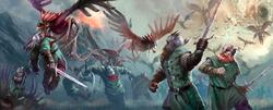 Stymphalian Birds Attack