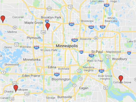 8 Twin Cities Locations, Dozens of Unit Sizes Available